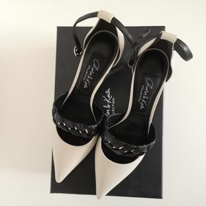 Charles & Keith Collection leather heels